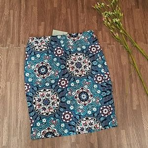 Colorful Loft Skirt *New with Tags*